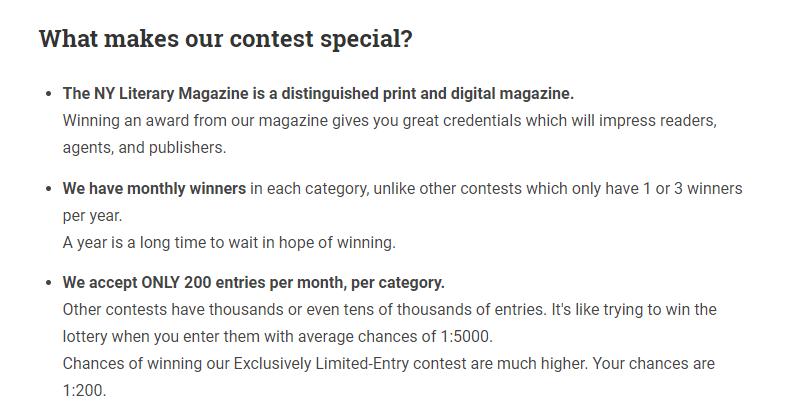 ny lit contest
